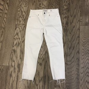 Lucky Brand white Ava Skinny jeans